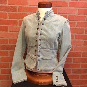 Andrew & Co corduroy blazer jacket hooks (O61)
